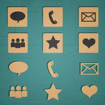web icons set internet collection - vector #134312 gratis