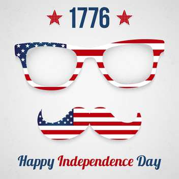 usa independence day poster - vector gratuit #134372
