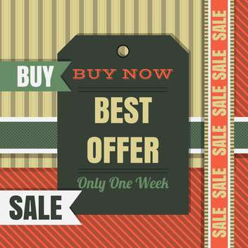 high quality sale labels and signs - vector #134422 gratis