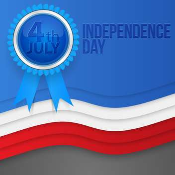 american independence day background - vector gratuit #134432