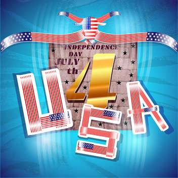 usa independence day background - vector #134482 gratis