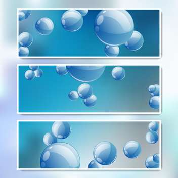 vector set of web banners - vector gratuit #134692