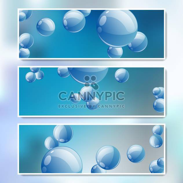 vector set of web banners - Free vector #134692
